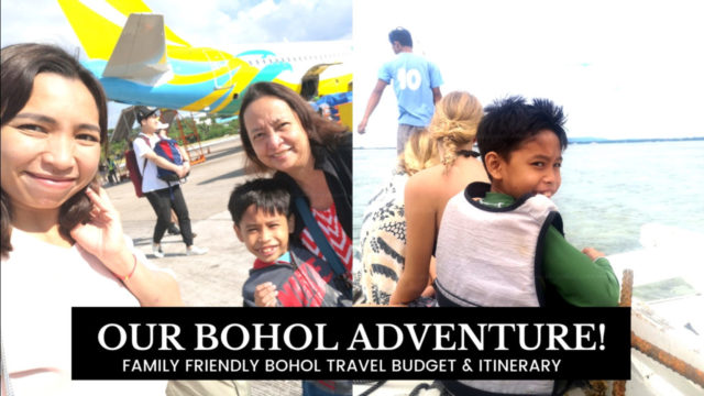 FAMILY FRIENDLY BOHOL TRAVEL BUDGET & ITINERARY