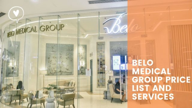 BELO MEDICAL GROUP PRICE LIST