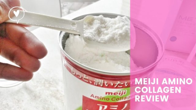 REVIEW: Meiji Amino Collagen Powder