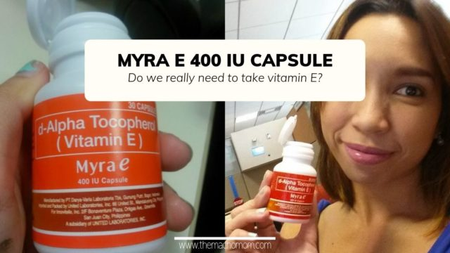 REVIEW: Myra-E 400 IU Capsule