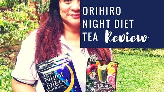 Orihiro-night-diet-tea-review