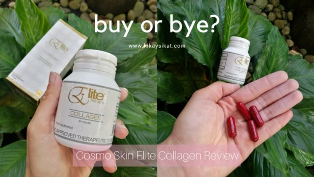 REVIEW: Cosmo Skin Elite Collagen