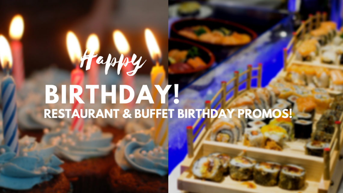 restaurant birthday promos