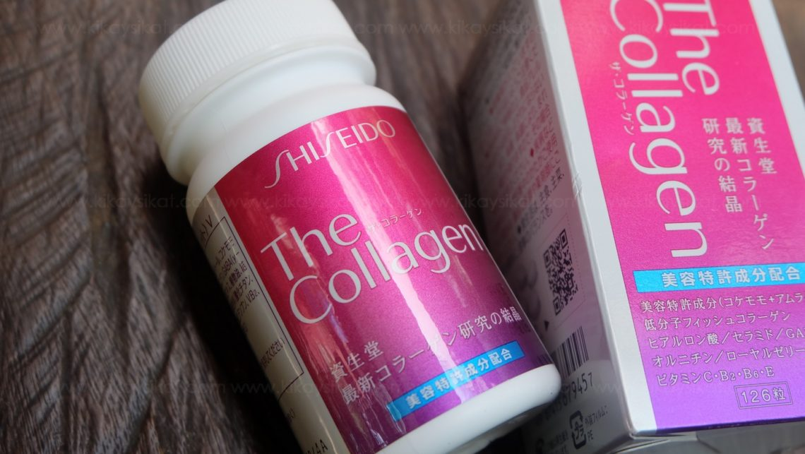 REVIEW: Shiseido The Collagen Tablets