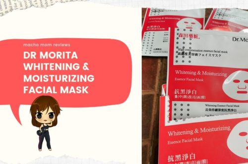 Review: Dr. Morita Whitening and Moisturizing Essence Facial Mask