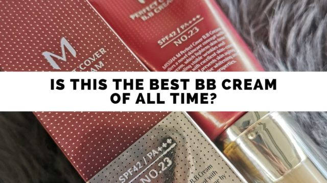 Missha Perfect Cover BB Cream 23 Review | A Good Ol Classic