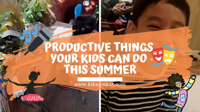 Summer Activities for Kids | Let's Keep Our Kids Happy Busy, and Productive!