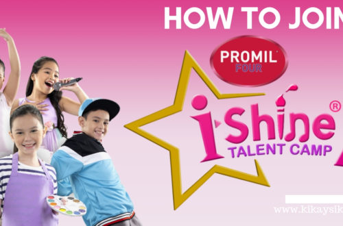 How to Join Promil i-Shine Talent Camp Year 7 2019