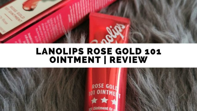 Lanolips Rose Gold | Review