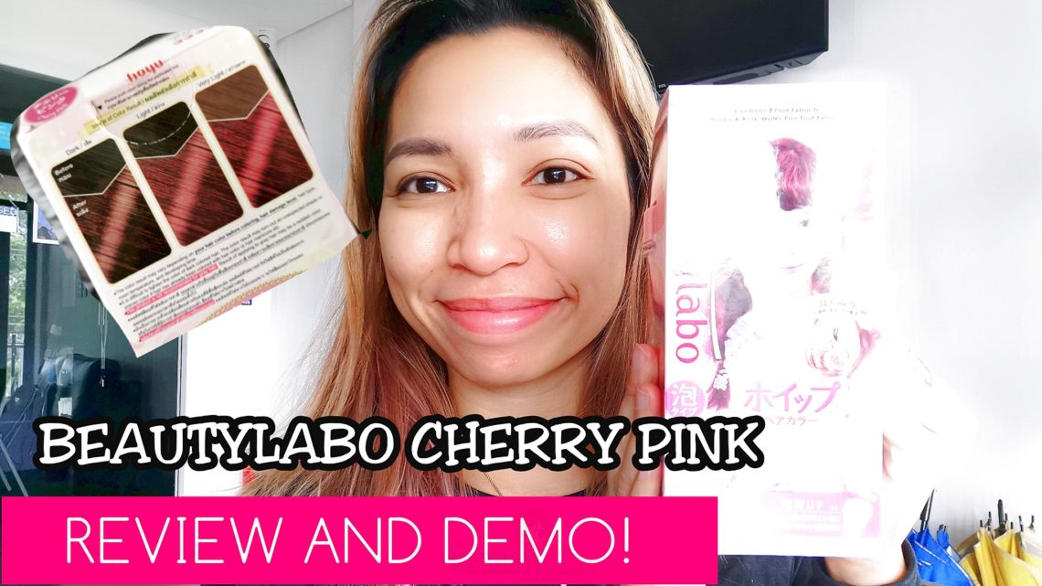 BeautyLabo Cherry Pink Review | Demo and How-To Included!
