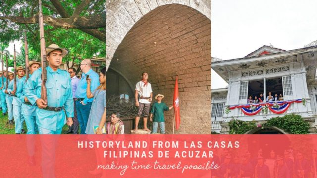 HistoryLand from Las Casas Filipinas de Acuzar Will Take You Back Through Time -