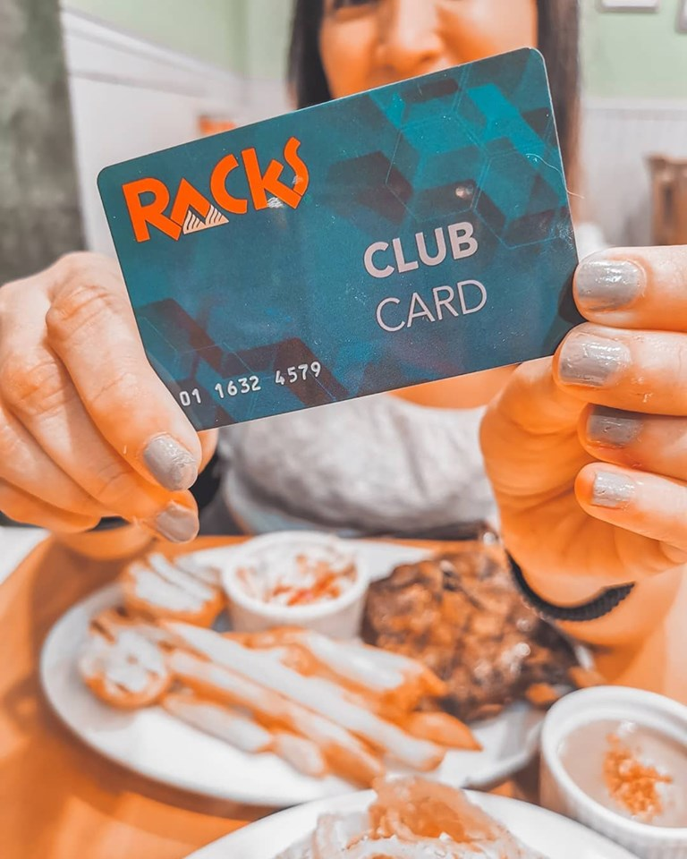 Sulit Dates with RACKS Club Card