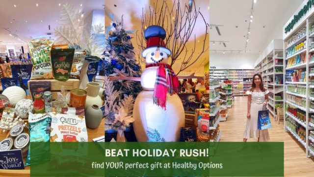 Beat Holiday Rush and Find Unique Christmas Gift Ideas at Healthy Options