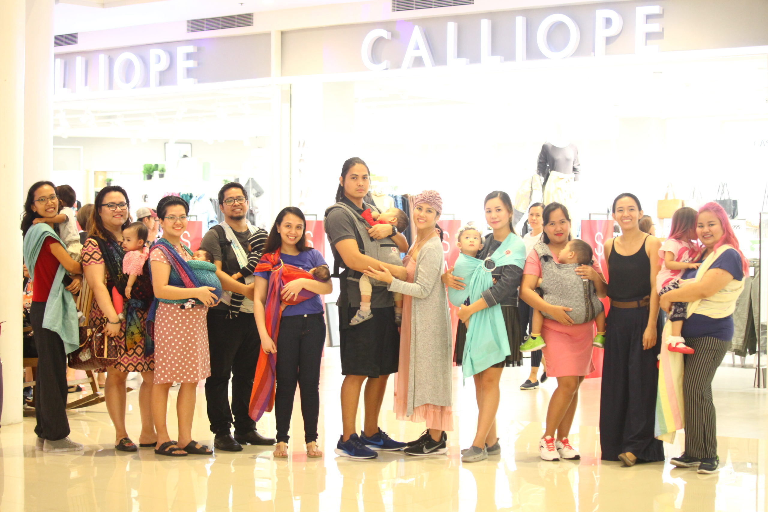 Babywearing Philippines honors ancient Filipino babywearing practices in International Babywearing Week 2019 celeb