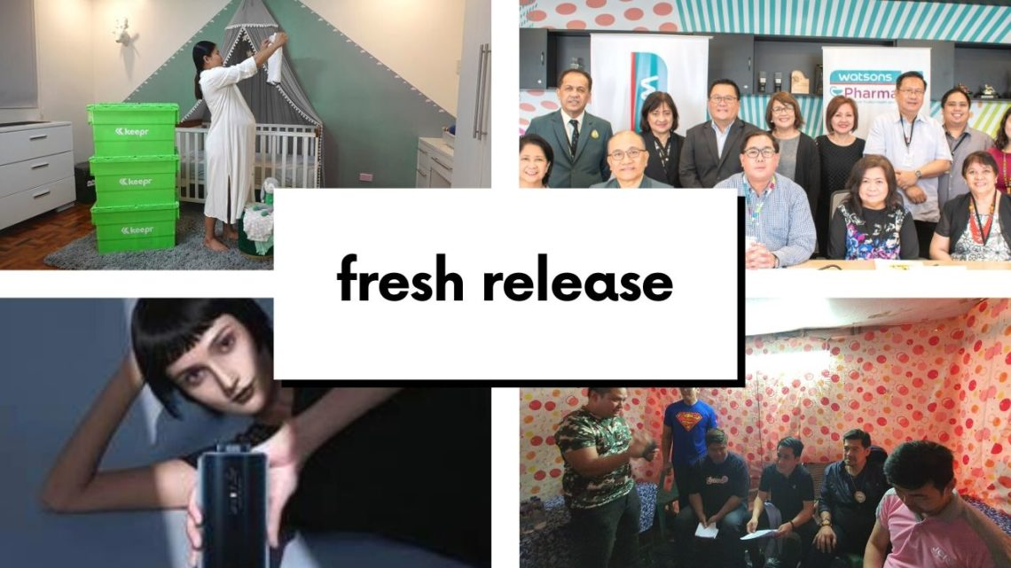 FRESH RELEASE: Keepr Storage, Fast Charging Phone from Vivo, Watsons Partners with PPha, NOVUHAIR