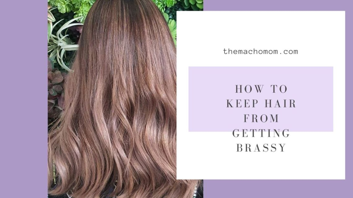 How to Keep Hair from Getting Brassy - Davines Alchemic Silver Shampoo Review