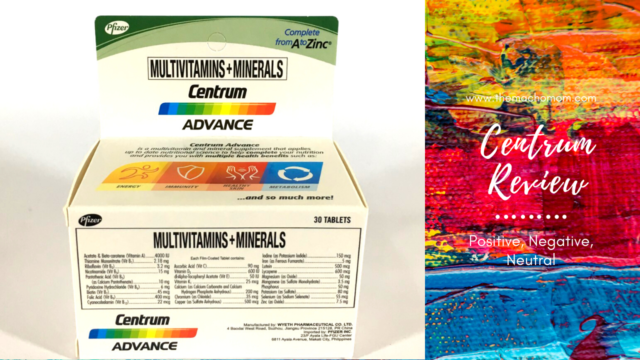 Centrum Advance Review (Positive, Negative, Neutral)