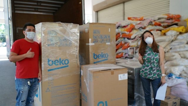 Beko Pilipinas partners with LGUs, orgs for frontliners aid