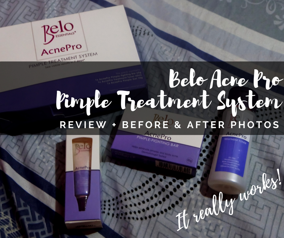 Belo Essentials AcnePro Pimple Treatment System Review | Flashback Feedback
