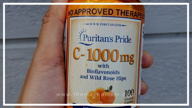 REVIEW: Puritan's Pride C-1000mg