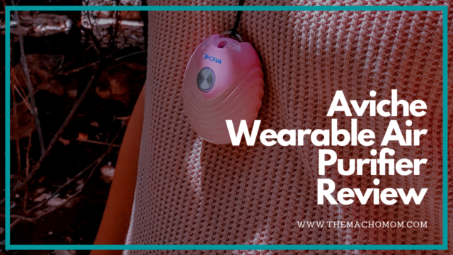 Aviche Wearable Air Purifier Review + how do air purifiers work?