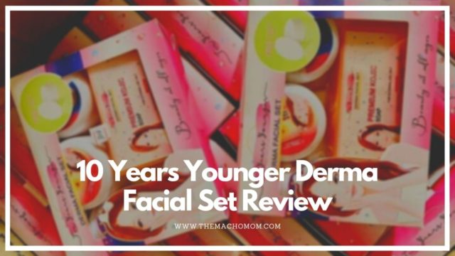 10 Years Younger Derma Facial Set Review
