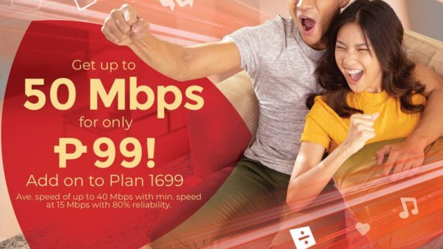 Upgrade Your PLDT Home Fiber Wifi for As Low as Php 99