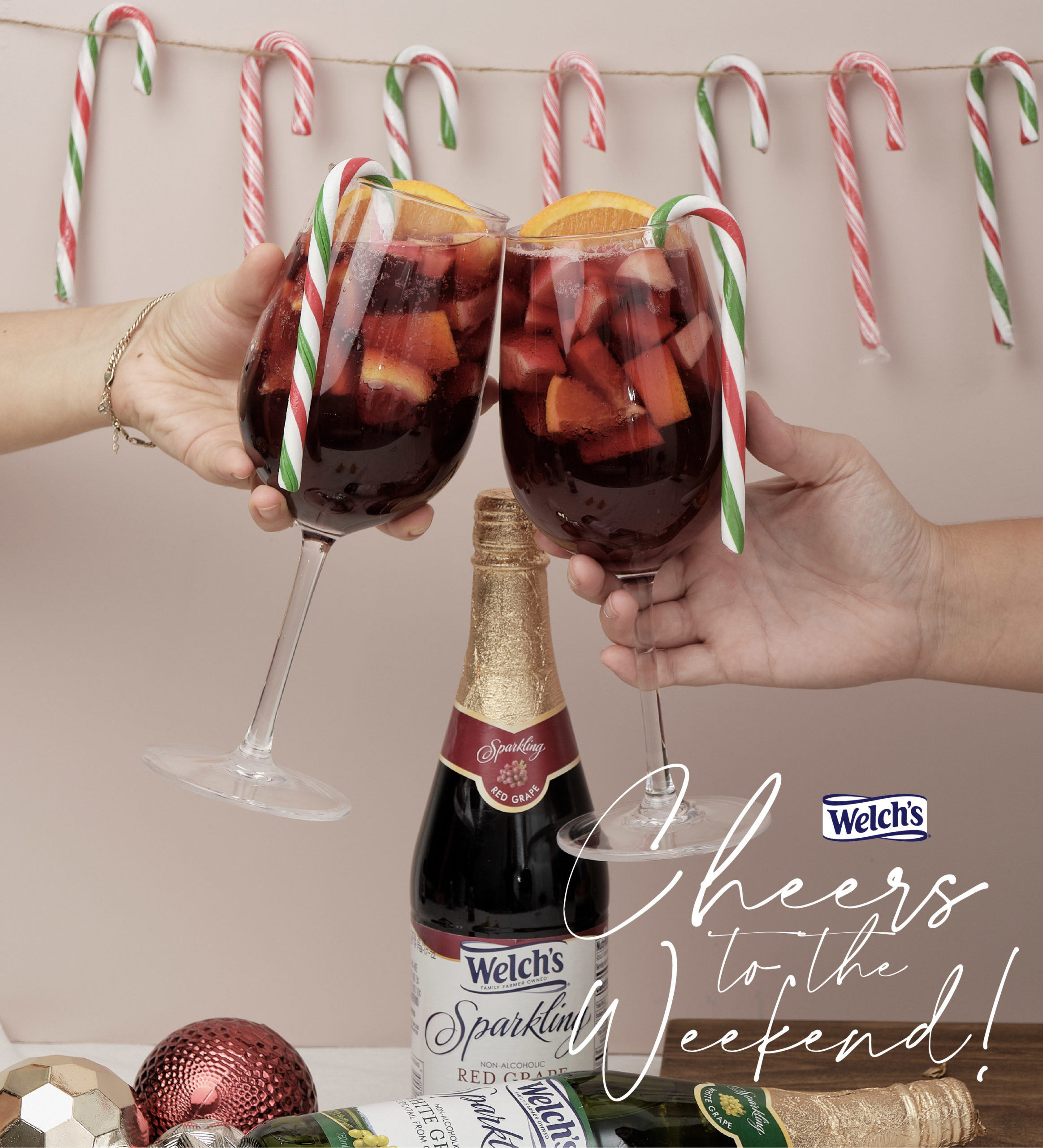 #ShareTheSparkle and celebrate with Welch's Sparkling Juices