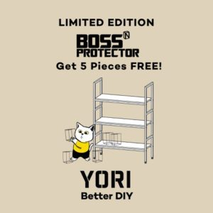 YORI launches Takara Shelf in partnership with Boss Protector, now available in SM  Stores nationwide
