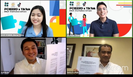 DOST-PCIEERD, TikTok ink partnership to strengthen Pinoy innovation promotion