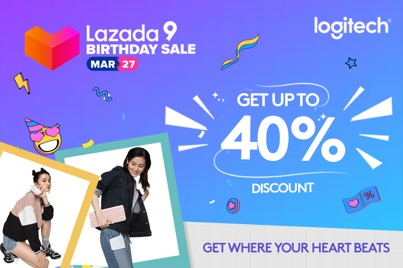 Add to Cart and Enjoy Unbeatable Logitech Deals at the Lazada 9th Birthday Sale