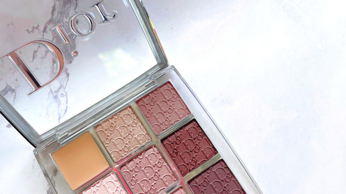 Dior Backstage Eyeshadow Palette Review in Cool Neutrals (002)