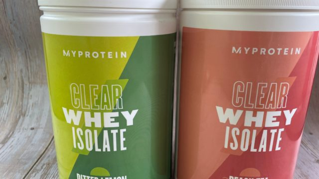 MyProtein Clear Whey Isolate Review